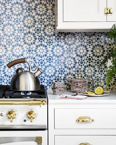 "60 Likes, 4 Comments - Moroccan Mosaic & Tile House (@mosaicmorocco) on Instagram: ""Moroccan mosaic tile is perfect for pattern blocking or adding a pop of color to a space without…"""