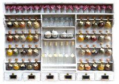 """étagère à épices 40 épices """"la petite épicerie bulles d'épices"""""""