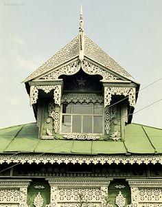 Дом в Ивановской области /Сarved house, Ivanovo oblast, Russia