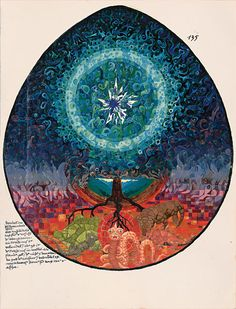 "From The Gift of Magic""…Night covers the sky and far below lies the black earth."" Red Book by Carl Jung"