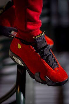 Nike Air Jordan 14 Ferrari