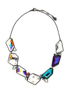 Rocket Station Necklace by Swarovski Jewelry at Gilt