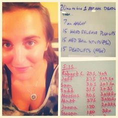 Pr-ed and Rx-Ed the workout tonight. So excited! Felt like to start and now I feel awesome. Motivational Photos, Crossfit, Push Up, Workouts, Felt, Feelings, Awesome, Girls, Toddler Girls