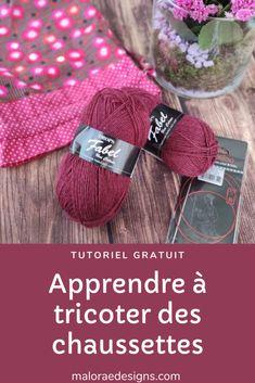Ma recette pour tricoter des chaussettes (tuto gratuit) - Maloraé Designs -