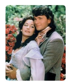 North and south - Lesley-Anne Down e Patrick Swayze sono Madeline Fabray LaMotte e Orry Main North And South, South Usa, Patrick Swayze, Civil War Movies, Bon Film, Idole, Dirty Dancing, Old Tv Shows, Film Serie