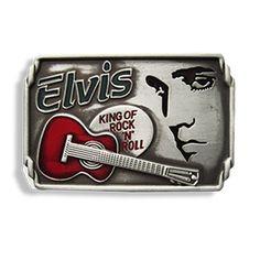 Elvis Presley Belt Buckle www.mypinupcreations.com