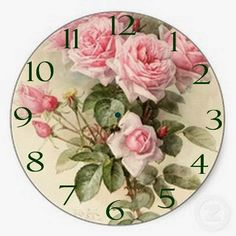 Shop Shabby Chic Pink Victorian Roses Tile created by LorrainesOoLaLa.