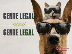 Gente legal atrai gente legal! #amizade #amigo #gente #legal