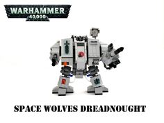 Warhammer 40K Space Wolves Dreadnought | by Lego Admiral