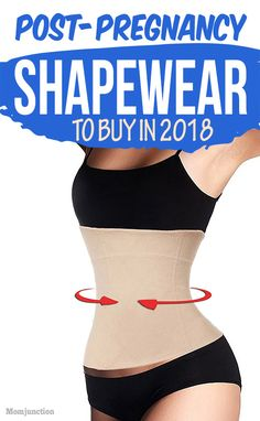12 Best #Postpartum Girdles To Buy In 2018 : Do belly wraps work after #pregnancy? Yes, the postpartum girdle aids your belly to retain pre-pregnancy shape? Learn the best post pregnancy girdle reviews.