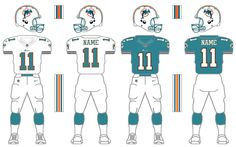 Miami Dolphins. This is the 25th of many uploads for this Nike/NFL tweaking…