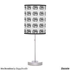 80s Boombox Desk Lamp