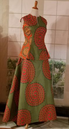 African clothing, African clothing for women,Dutch wax fabric,Made to order Latest African Fashion Dresses, African Dresses For Women, African Print Dresses, African Print Fashion, African Attire, Moda Afro, Kalamkari Dresses, Batik Fashion, African Traditional Dresses
