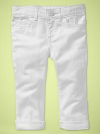 white skinnies for Reese