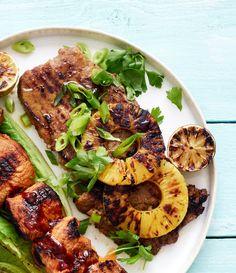 Ananasmarinoitu entrecôte | Liha, Grillaus | Soppa365 Koti, Tandoori Chicken, Ethnic Recipes, Recipes, Pineapple
