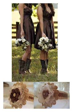 12 Copper Heart Locket Burlap Brown Mason Jar Country Wedding Decorations...love this style of dress