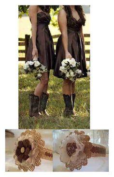 12 Copper Heart Locket Burlap Brown Mason Jar Country Wedding Decorations