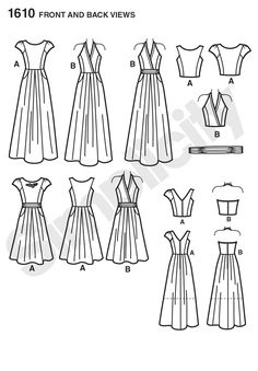 Simplicity Creative Group - Misses' Dress Project Runway Collection