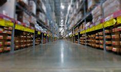 Warehouse at IKEA Store