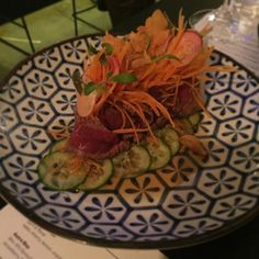 WAGYU BEEF TATAKI @mrmiyagimelbourne #wagyu #tataki #japanese #instafood #foodielife #foodie #foodspiration #mrmsays #lovejapanese by ezrajudetepania