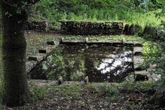 Fontaine Sainte Anne sur le sentier des des Hospitaliers