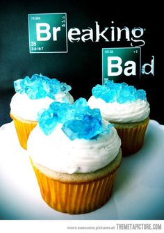 Breaking Bad cupcakes…