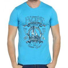 Scorp Graphics Oceans Baskılı Erkek Tişört
