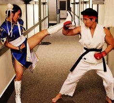 Chun-Li vs Ryu, Street Fighter