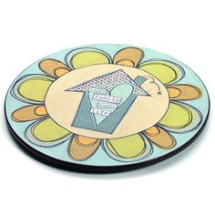 Demdaco This Thing Called Family Happy Family Lazy Susan - Happy family, happy life.
