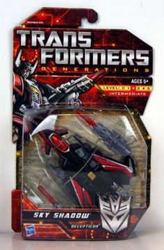 ($16.19) Transformers Generations Deluxe Class Sky Shadow   From Transformers