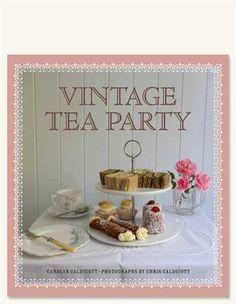 VINTAGE TEA PARTY BOOK via Victorian Trading Co