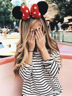 Disneyland, Disney, striped shirt, teacups, blonde, blonde hair, lifestyle Disneyland shot.