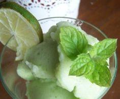 Błyskawiczny sorbet miętowo-limonkowy