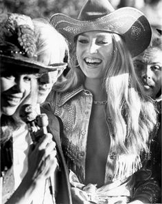 "- Actress/model Jerry Hall at the Houston movie premiere for ""Urban Cowboy"" at Gaylynn Theater in Sharpstown Center. Urban Cowboy Movie, Lynn Wyatt, Pasadena Texas, Jerry Hall, Actor John, Beautiful Long Hair, Rodeo, Supermodels, Documentaries"