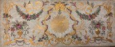 Paleotto con decori in oro zecchino su legno XVIII secolo