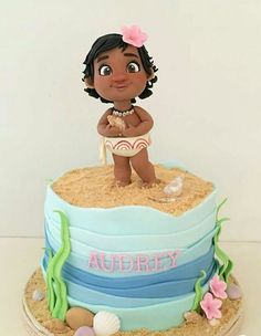 Moana cake birthday Disney