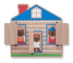 Peek-a-Boo House Baby & Toddler Toy   Melissa & Doug