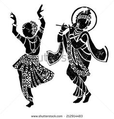Buddha Dance Wall Decal Home Decor Elephant Ganesh Buddhism Om Yoga Wall Stickers Doodle Art Drawing, Mandala Drawing, Cool Art Drawings, Art Drawings Sketches, Zentangle Drawings, Krishna Drawing, Krishna Art, Krishna Painting, Madhubani Painting
