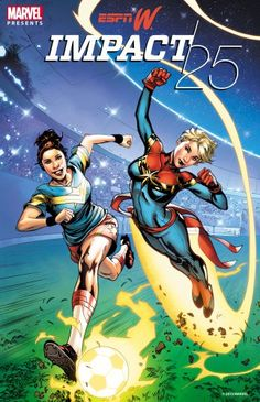 "espnW Teams with Marvel Comics for ""Super"" Take on 2015 ""IMPACT25"" List"