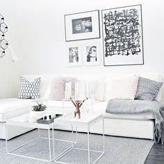 En bättre bild på nya soffan!  Ser fram emot lite idolmys ikväll!