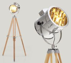 Alfred Tripod floor lamps at Made - £139