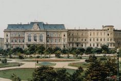 Ratusz (Rathaus), Chorzów - 1900 rok, stare zdjęcia