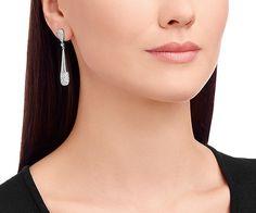 Cypress Small Pierced Earrings - Jewelry - Swarovski Online Shop