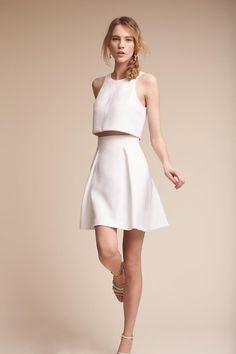 Ivory Lynnewood Two-Piece Dress | BHLDN