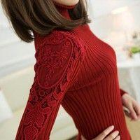 Gender:Women Technics:Computer Knitted Wool:Thin Wool Collar:Turtleneck Sleeve Length:Full
