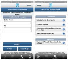 Nuove funzionalita' per 'Inps Servizi Mobile' su iPhone e Android