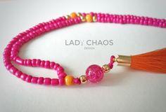 Bunte+Kette+mit+Quaste++von+Lady_Chaos+auf+DaWanda.com