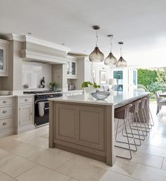 At Tom Howley we are passionate about quality, design and craftsmanship. Our bespoke kitchens are exquisitely designed and made with the finest materials. Cosy Kitchen, Open Plan Kitchen Living Room, Kitchen Dining Living, Farmhouse Style Kitchen, Home Decor Kitchen, Country Kitchen, Kitchen Interior, New Kitchen, Kitchen Ideas