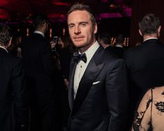 Michael Fassbender at the 2016 Vanity Fair Oscar party