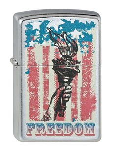 Zippo 2002523 Nr. 207 Flag and Torch